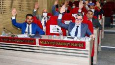 Menemen'de gergin meclis  Millet İttifakı salonu terk etti