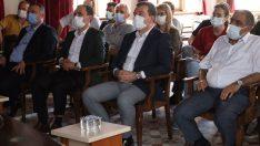 Bergama'nın vizyon projeleri Zeytinpark ve Millet Bahçesi için bilgilendirme toplantısı