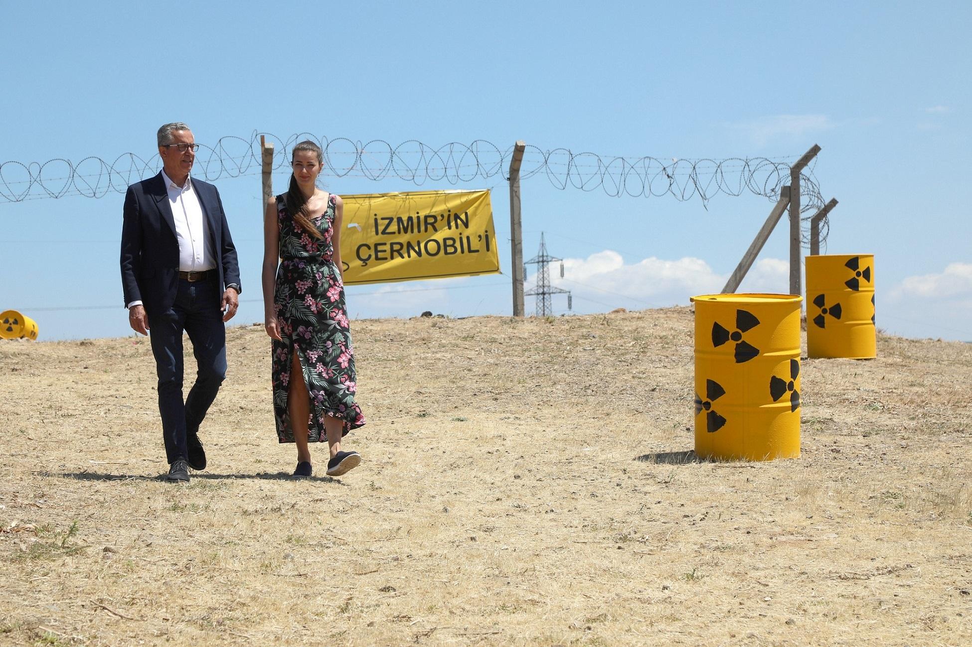 Nükleer atık direnişine Ukrayna'dan destek