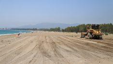 Menderes Plajları Sezona Hazır