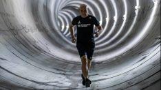 Başkan Soyer, Fahrettin Altay-Narlıdere Metrosu'nu inceledi Metro tünelinde sabah koşusu