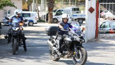 BAYRAKLI'DA MOTORİZE ZABITA EKİPLERİ GÖREVE BAŞLADI