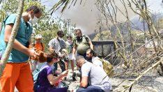 Bornova'dan Marmaris'e yardım eli