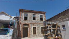 Yukarıköy'de restorasyon sürüyor!