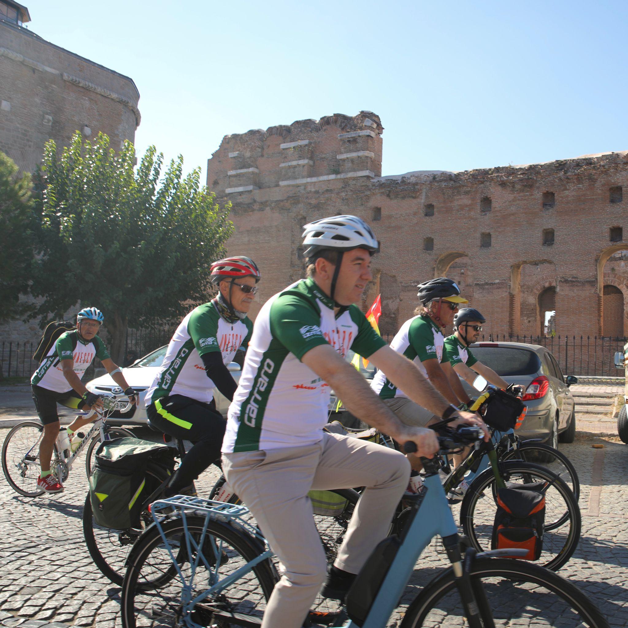 UNESCO Yolu'nda 7. Bisiklet Turu Başladı