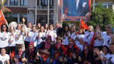Tarım ve Sakız Koyunu Festivali'nde güzeller podyuma çıktı