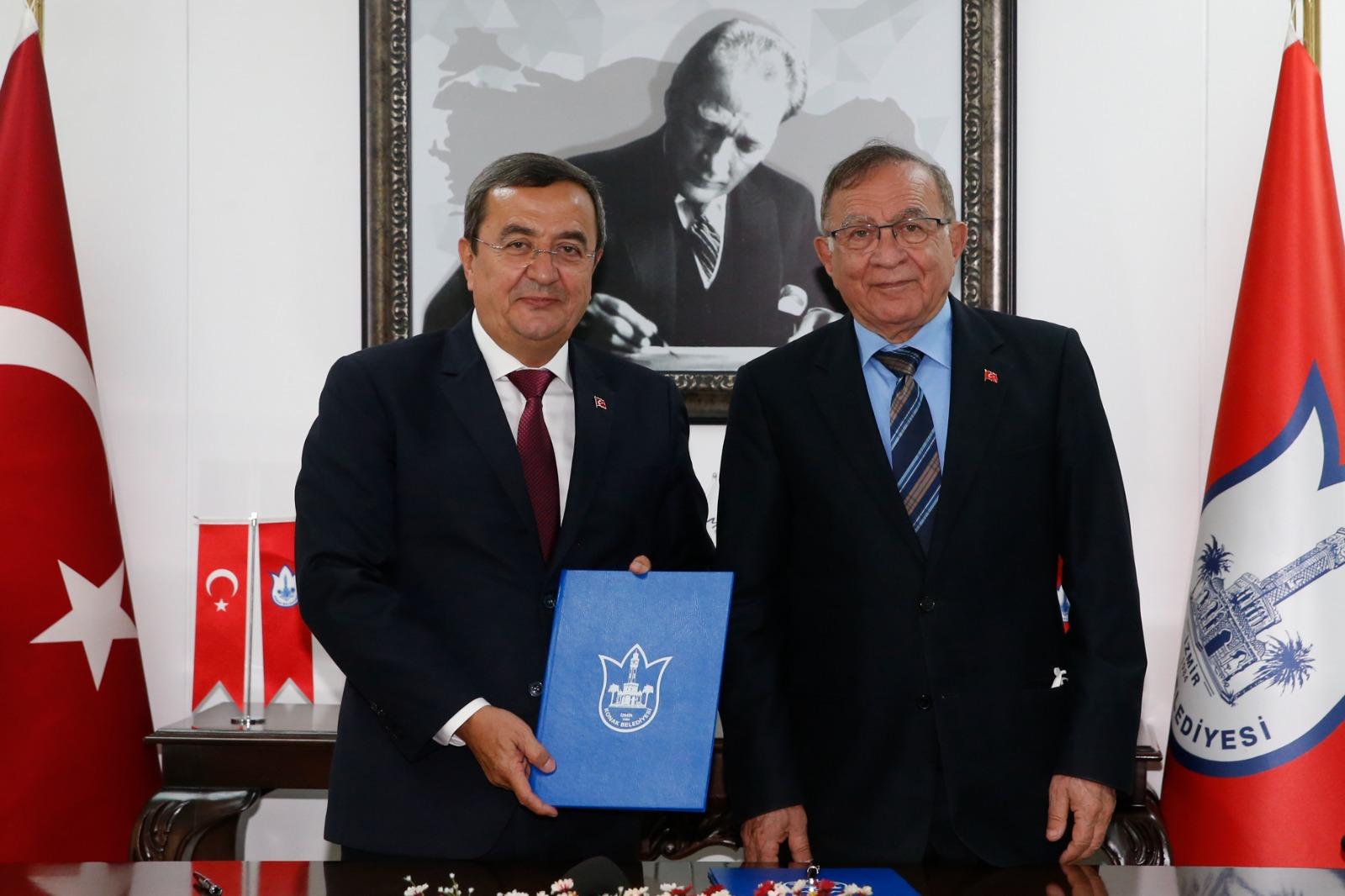 Konak Belediyesi ve Adana Seyhan Belediyesi kardeş şehir oldu
